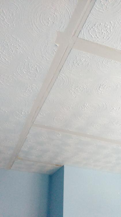 Advice On Correcting Plasterboard Seams Covered With Artex