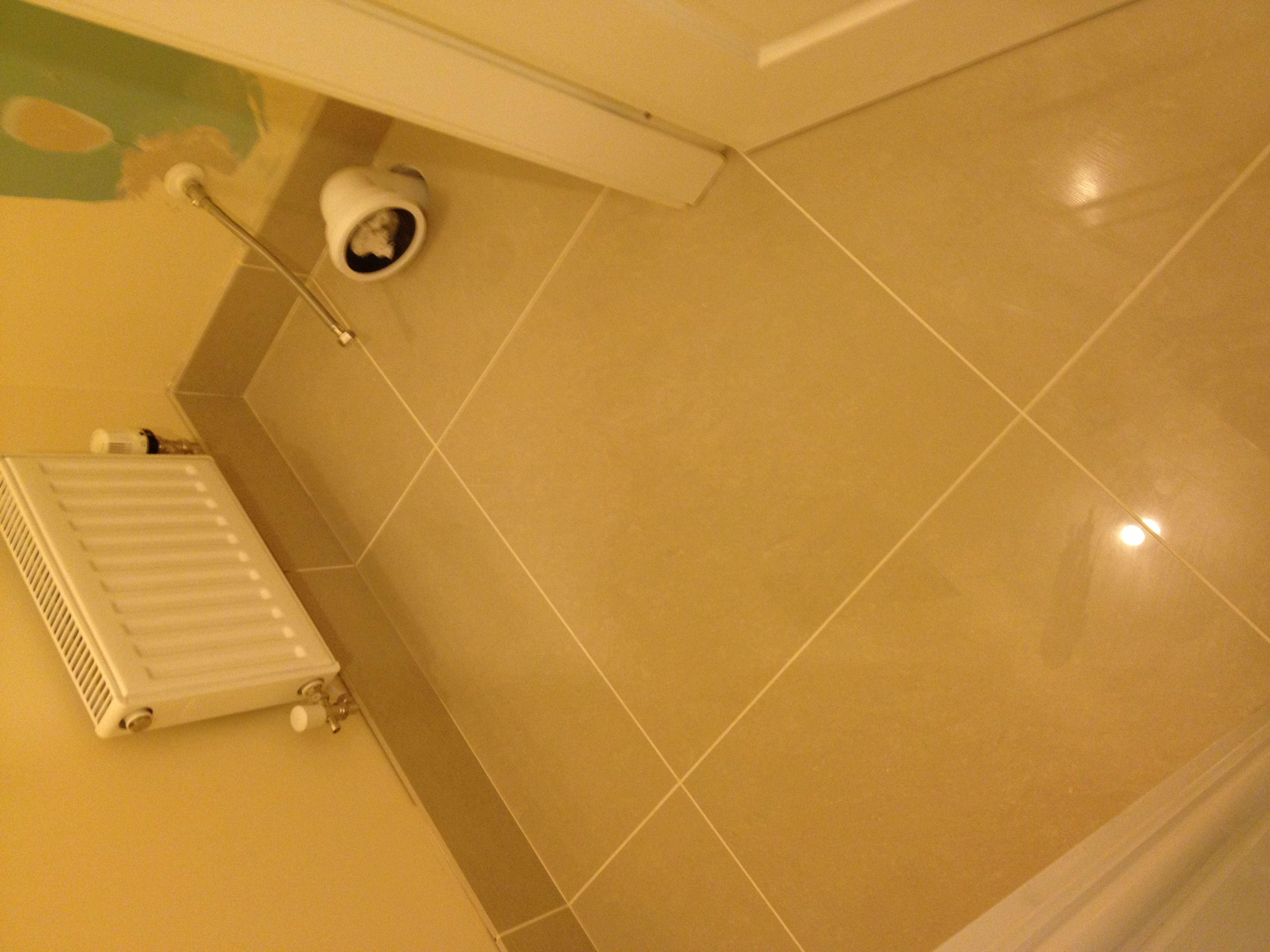 How To Screed A Floor >> Tiled skirting/upstands - Floor Tiles & Tiling - BuildHub.org.uk