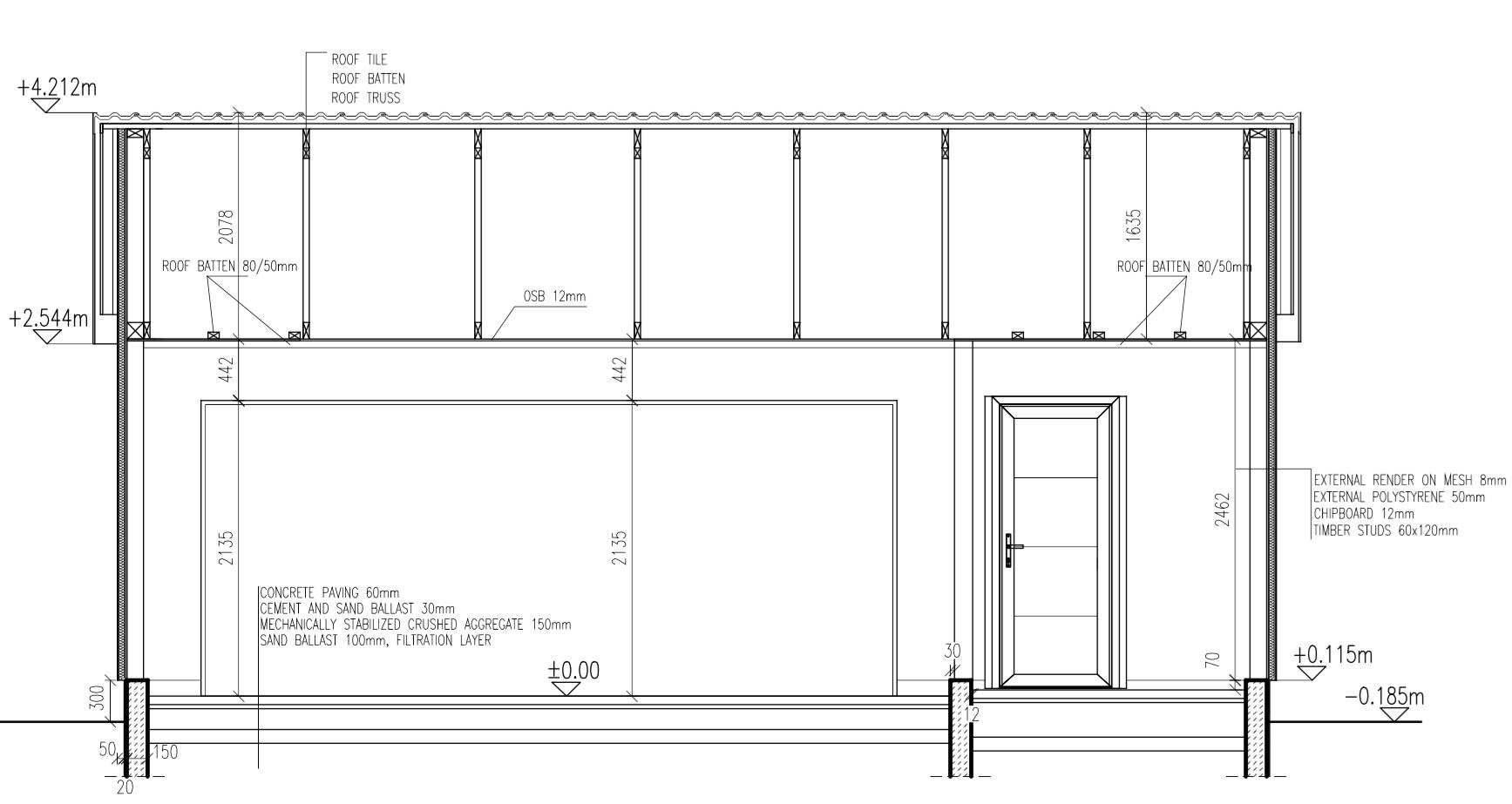 Timber Frame Garage - Timber Frame - BuildHub.org.uk