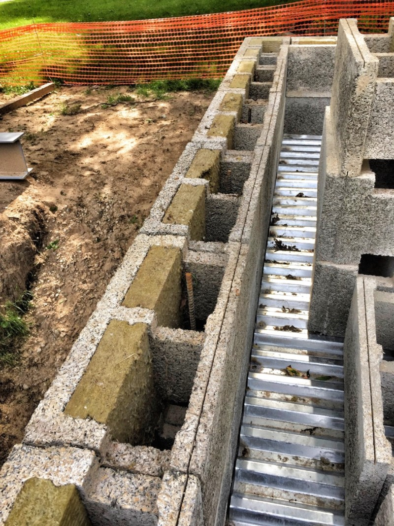 Ducting Within An Icf Block Anybody Tried It Insulated