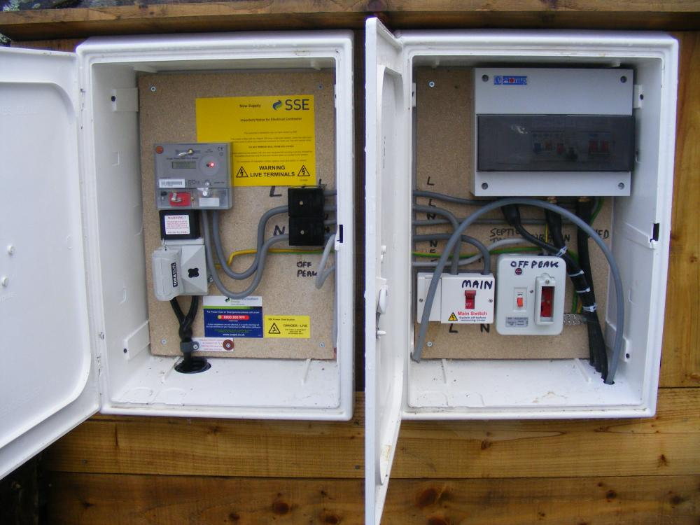 Meter Box Holes For The Cable Electrics Other