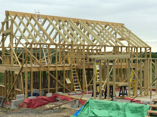 Timber frame Stud centre spacing - Timber Frame - BuildHub