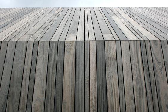 Vertical Timber Clad Roof Roofing Tiling Amp Slating