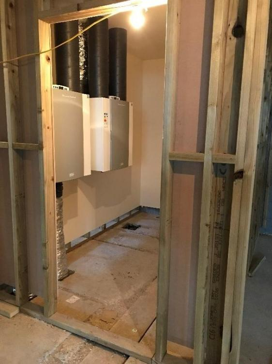 Plant Room From Outside