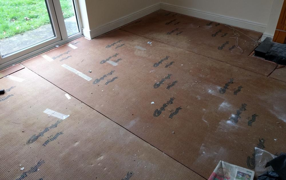Flooring Underlay On Top Of Concrete Subfloor Wood