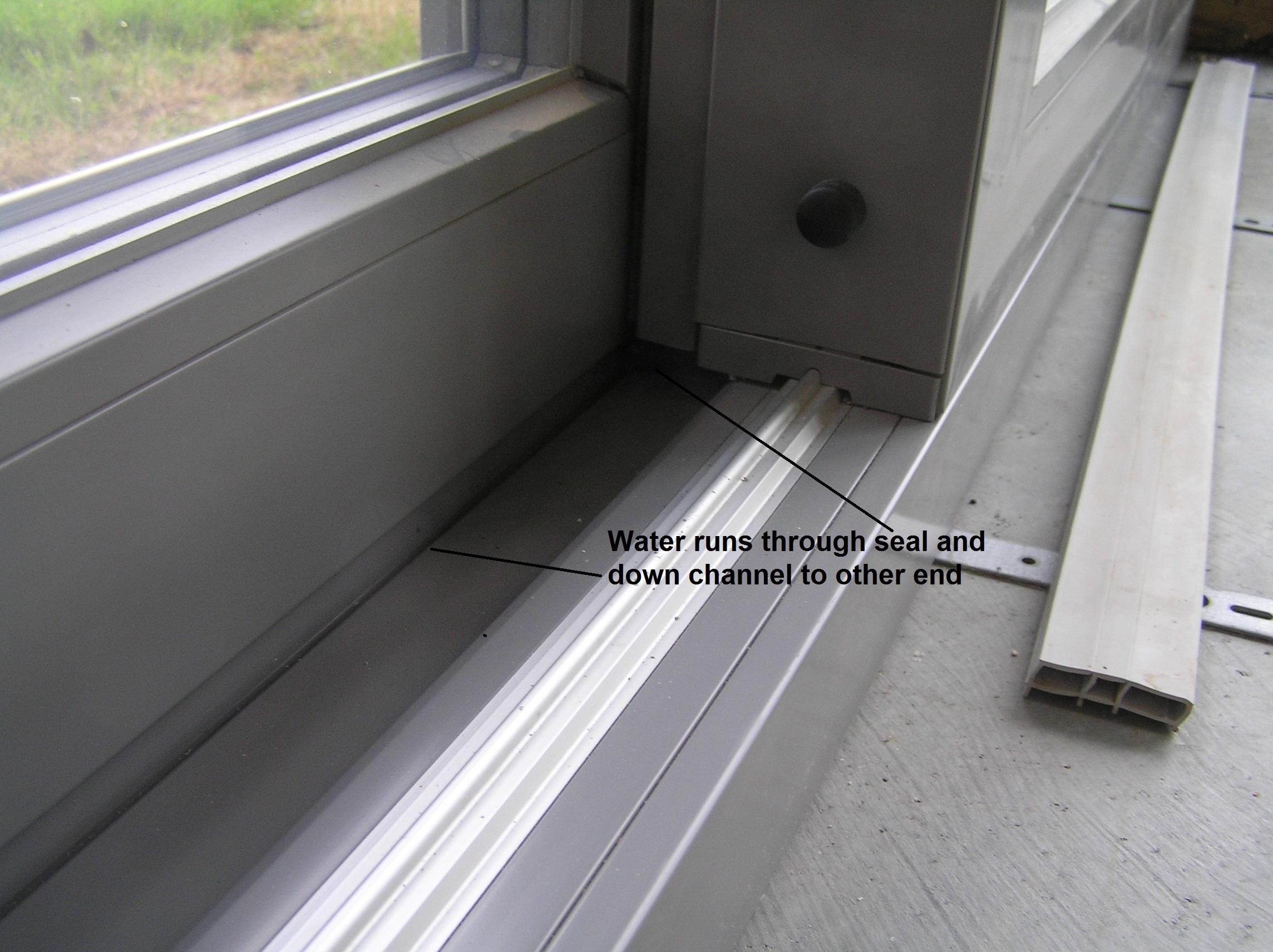 Internorm Forum Of Internorm Sliders Leaking Windows Glazing Buildhub