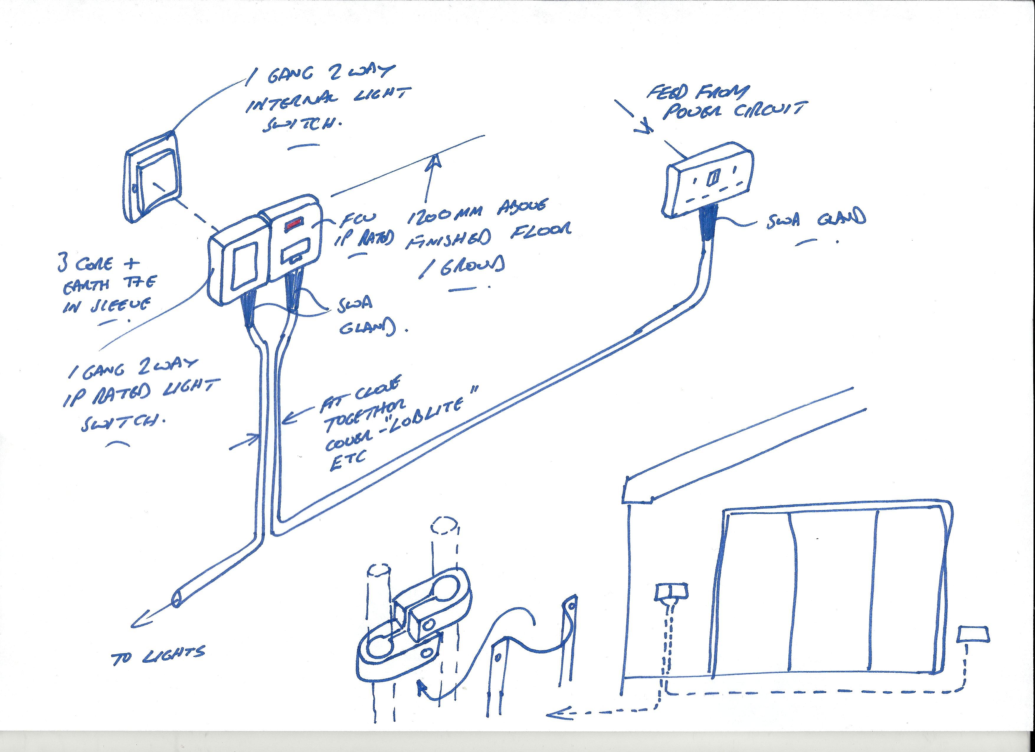 Light Switch Wiring Diagram On Way Switch Feed To Switch