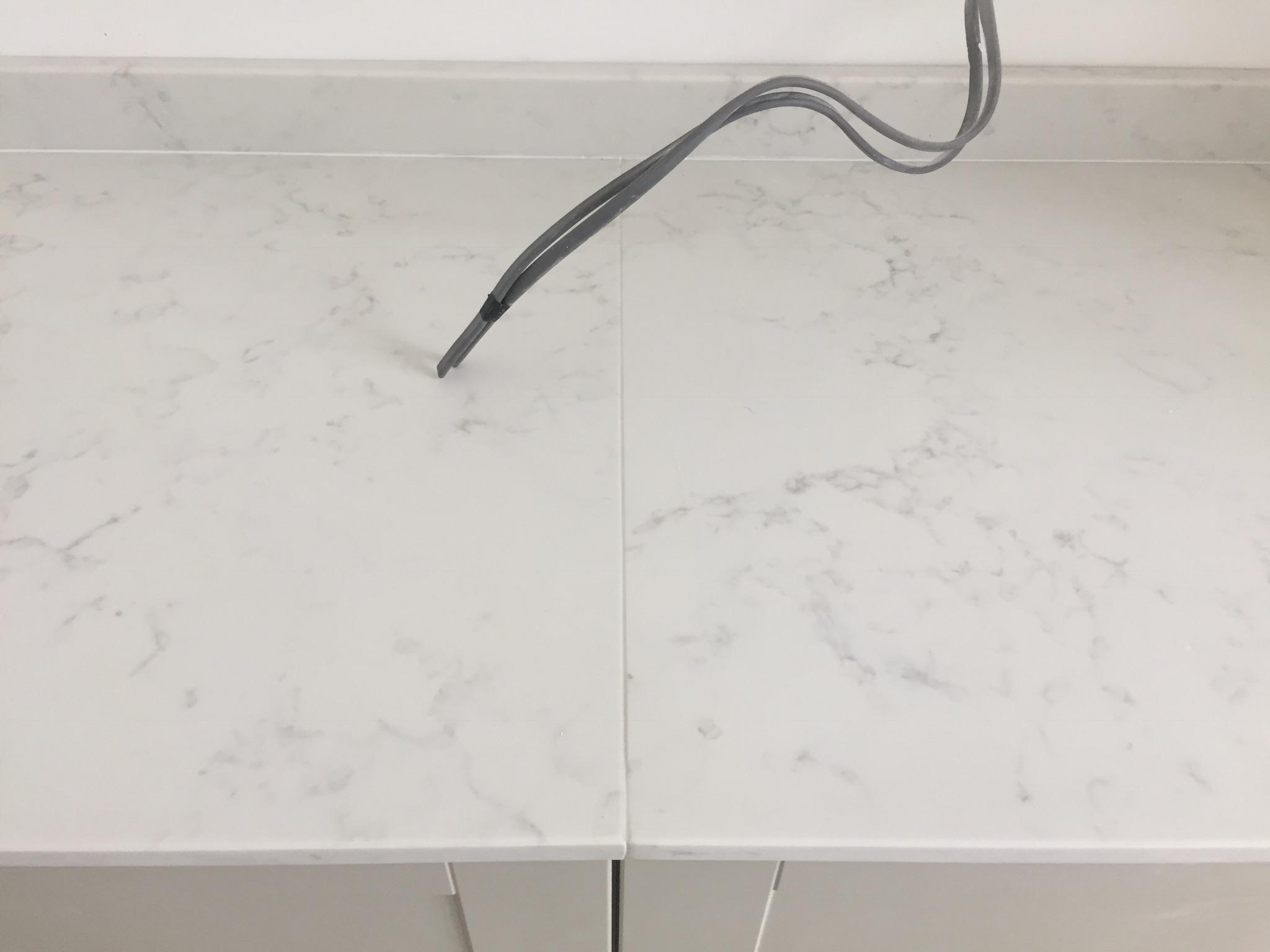 Quartz Worktop Joint Is This