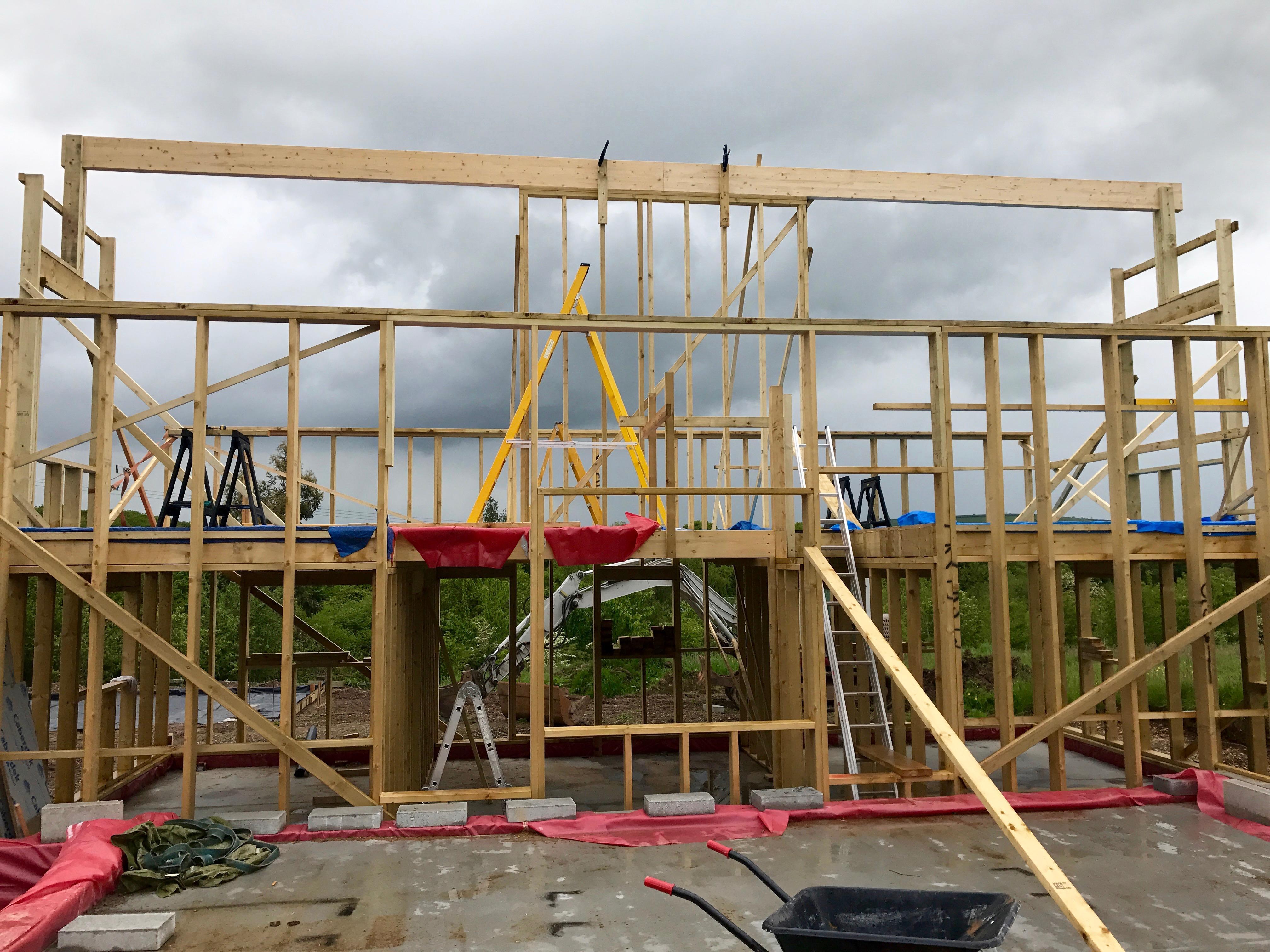 Vcl In Warm Roof Roofing Tiling Amp Slating Buildhub Org Uk