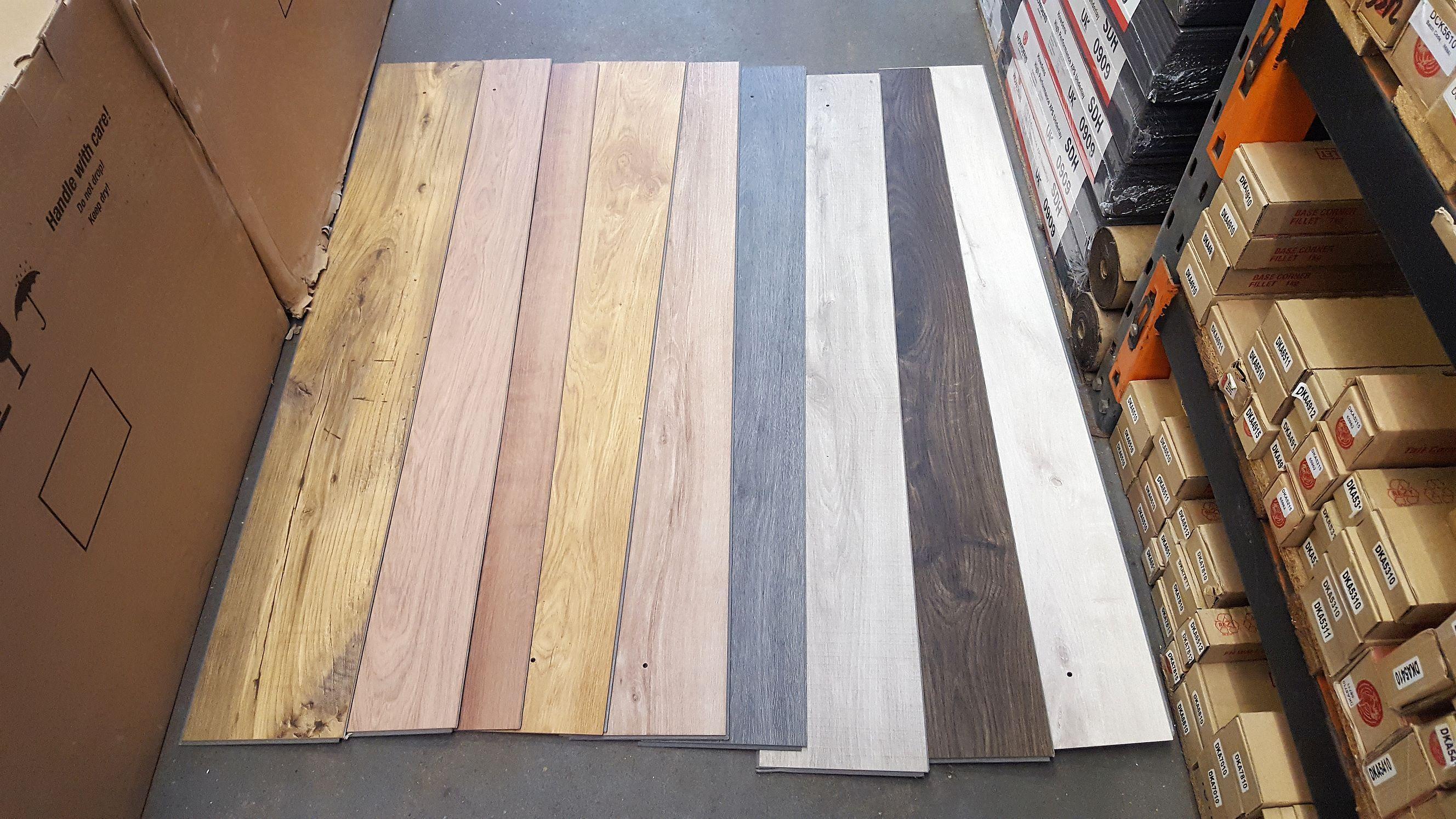 Range Of Quick Step Uniclic, Quick Step Uniclic Laminate Flooring