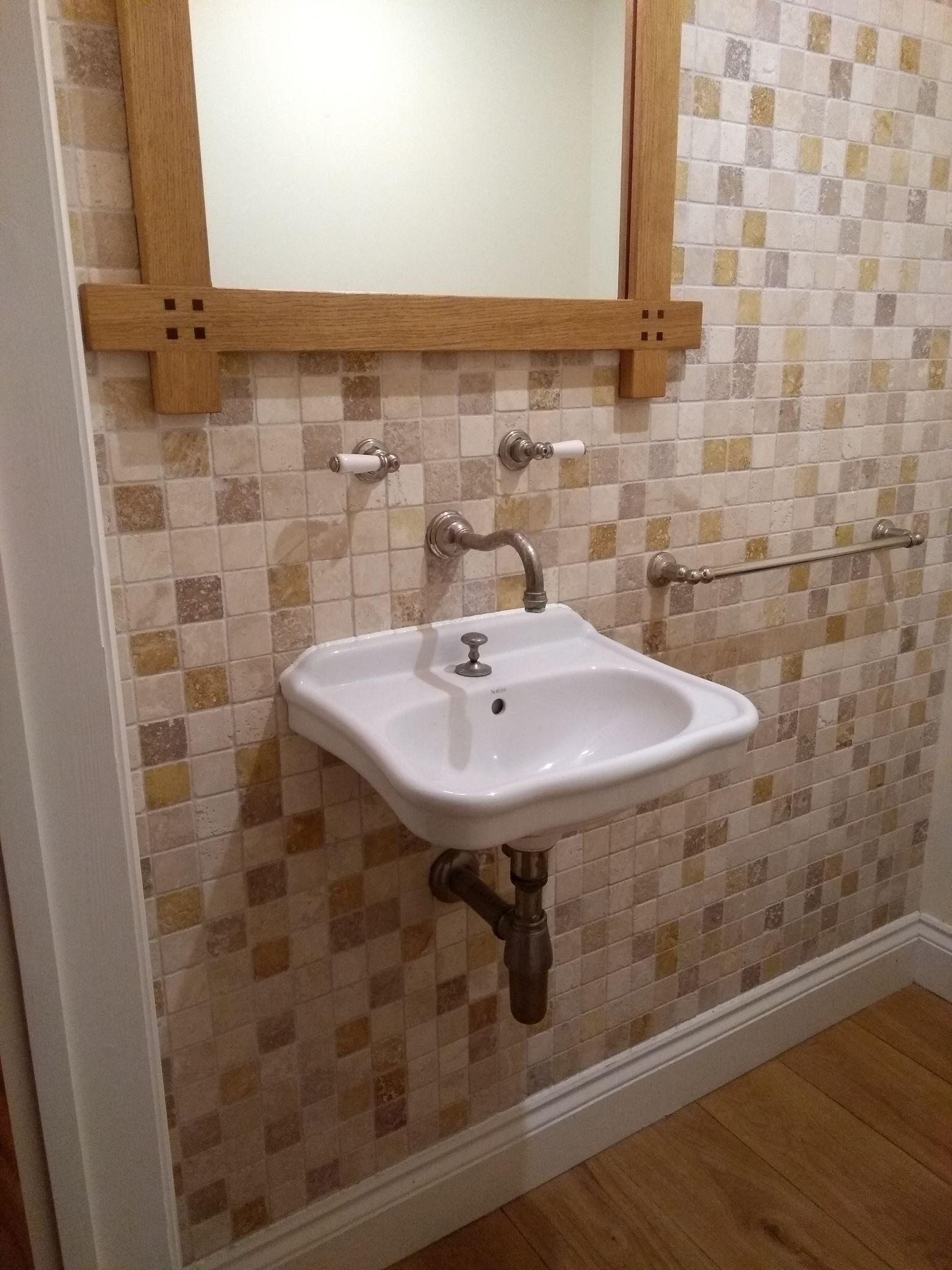 Wall hung basin - do I need a frame? - Bathrooms, Ensuites ... | 1560 x 2080 jpeg 339kB