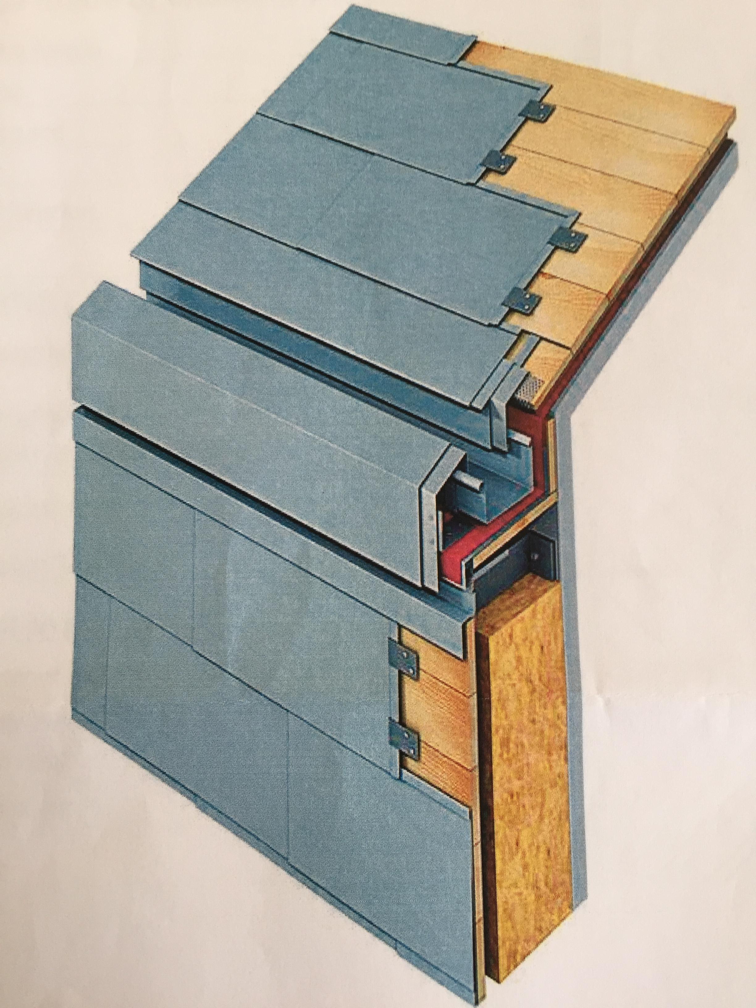Flat Roof Hidden Gutter Google Trsene House Cladding Roof Architecture Roof Cladding