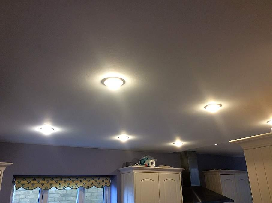 Get rid of those awful downlighters...