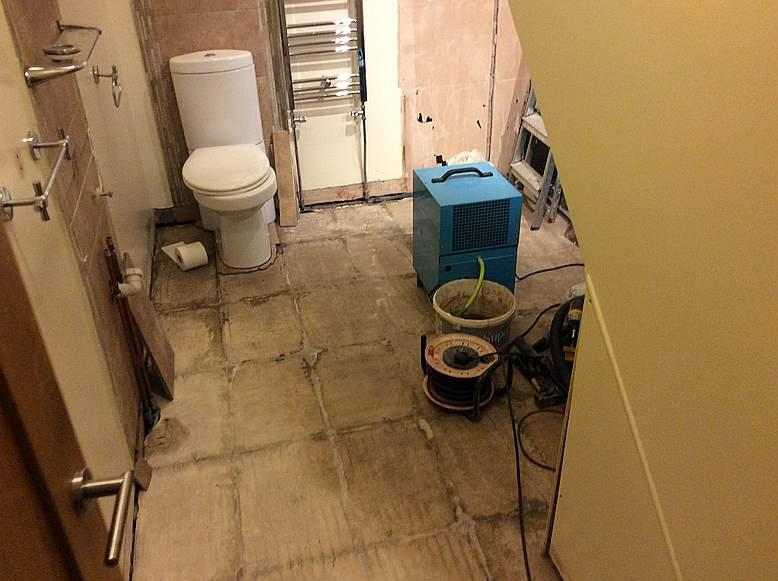 Accessible Ablutions 1 - Strip Out