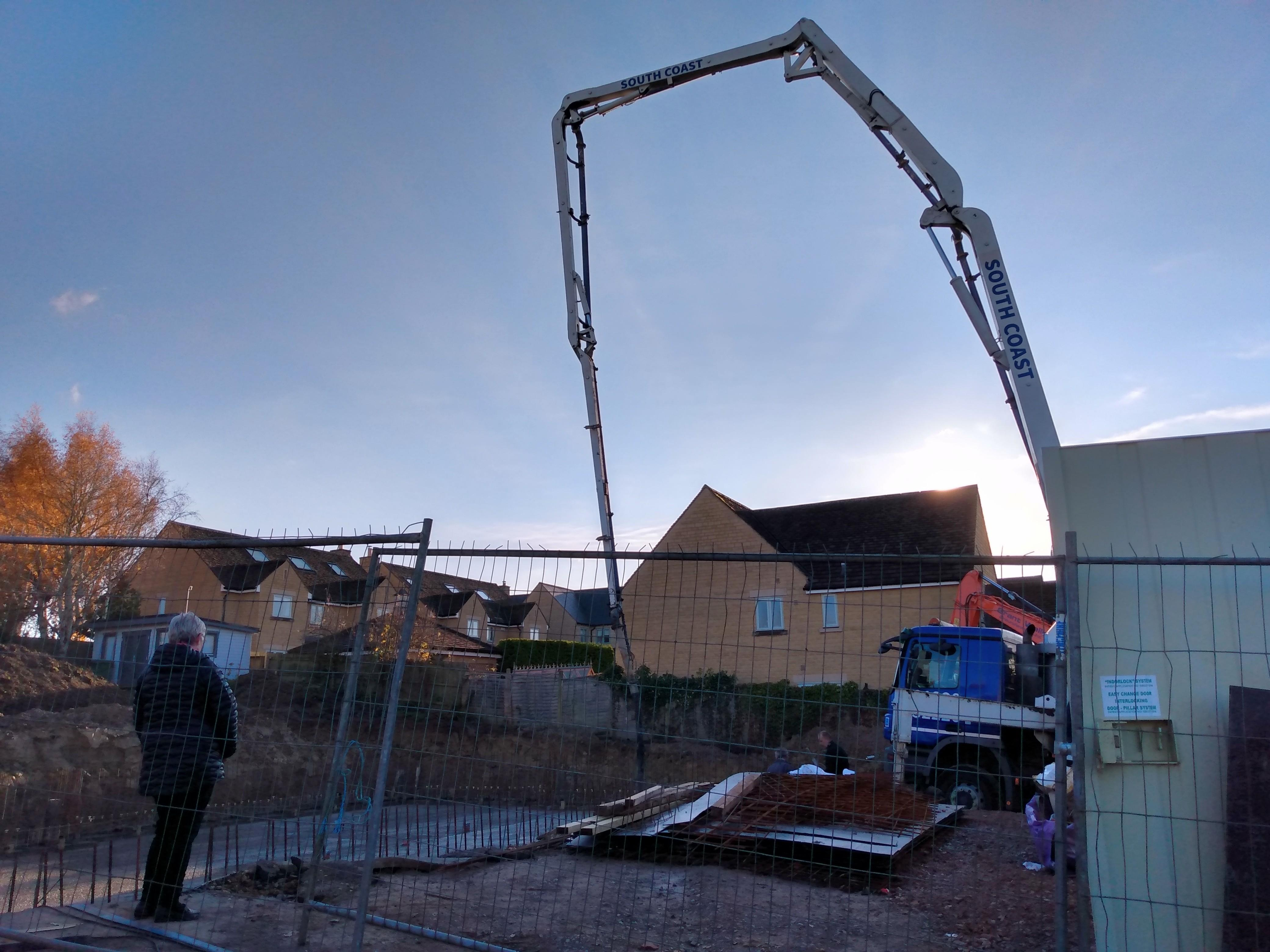 Week 9 - The Big Pour