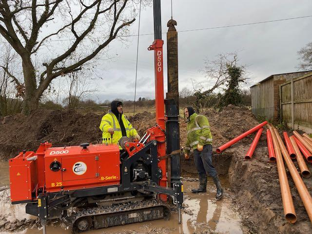 Piling & Ground Beam Completed