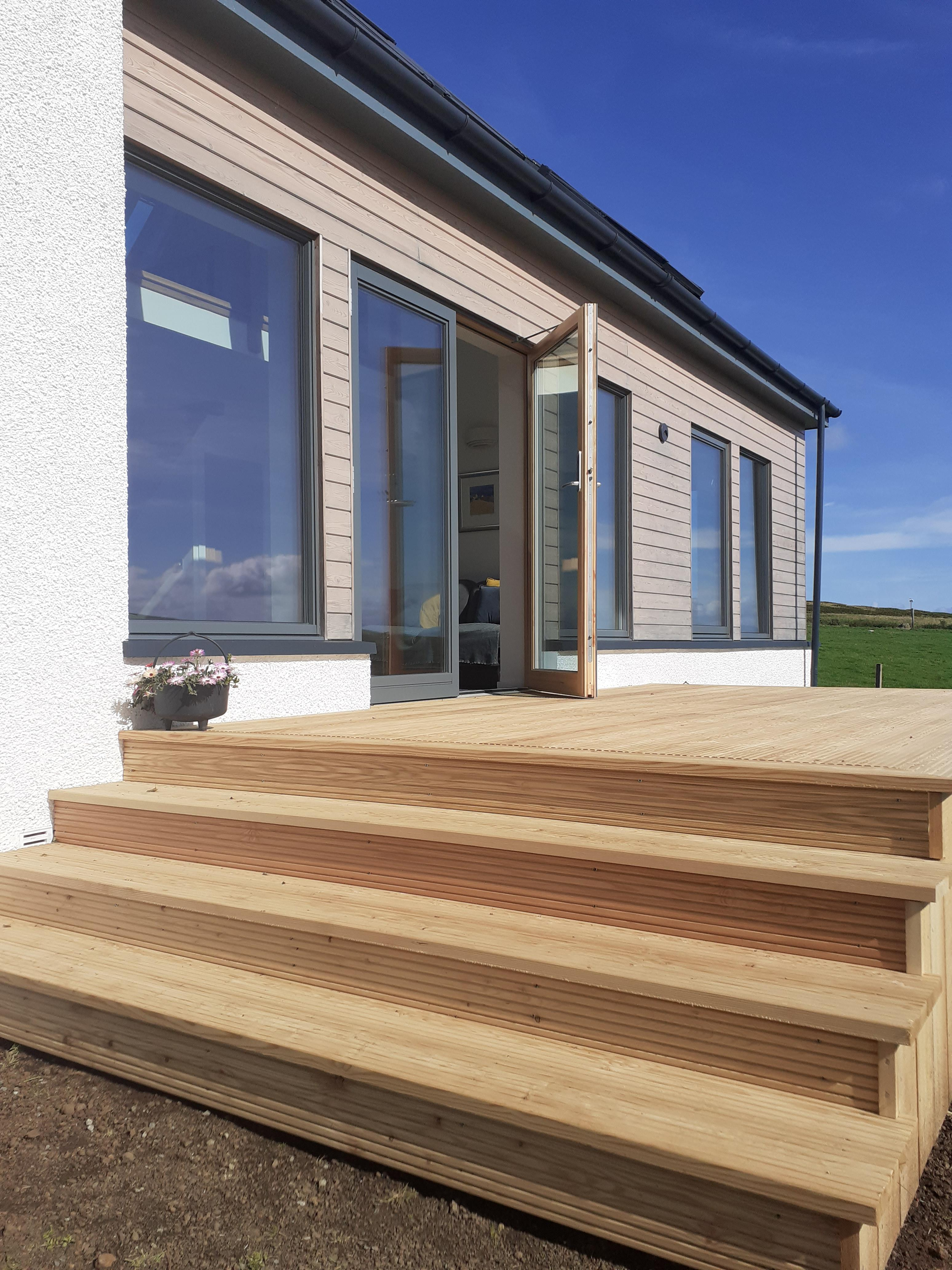 Ramp and decking